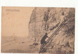 France 76 - St Martin Aux Buneaux - Echelle Descente à La Mer     : Achat Immédiat - Autres Communes