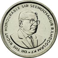 Monnaie, Mauritius, 20 Cents, 2001, SPL, Nickel Plated Steel, KM:53 - Maurice