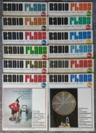 Radio Plans Année 1976 Complète 12 Numéros - Electronique Loisirs - Du N°338 Au 349 - Other Components