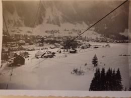 Photo Chamonix (74) En Descendant De Planquaz Par Le Téléphérique En 1937. - Places