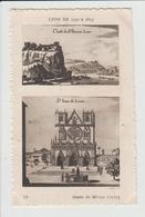 LYON - RHONE - LYON DE 1550 A 1815 - DESSIN - SAINT JEAN DE LYON - Otros