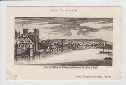 LYON - RHONE - LYON DE 1550 A 1815 - DESSIN - VUE DE L'EGLISE DE SAINT JEAN - Otros