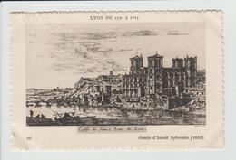 LYON - RHONE - LYON DE 1550 A 1815 - DESSIN - EGLISE DE SAINT JEAN DE LYON - Otros