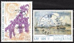 Lot TP N° 3429 -35 - OB -  Johan Barthold Jongkind  - Centenaire Naissance DECARI - France