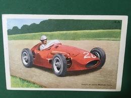 Cartolina Maserati - Voiture De Corse - 1950 Ca. - Cartoline