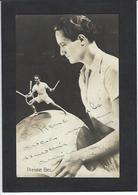 CPA Cirque Circus Cirk écrite Pierre BEL Jongleur Signature Autographe à L'encre Tennis - Zirkus