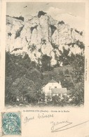 CPA 25 Doubs Saint Hippolyte Grotte De La Roche Précurseur St - Saint Hippolyte