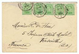 Zeer Mooi Document Gericht  Aan De Hees, Versailles In 1920 - Belgique