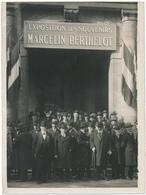Pharmacie - Centenaire De Marcelin Berthelot, 1927 - Photo Henri Manuel, Paris -  13 X 17,5 Cm - Altri