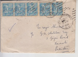 USA Old Cover To Pakistan   (A-1001) - Verenigde Staten