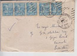 USA Old Cover To Pakistan   (A-1001) - Etats-Unis