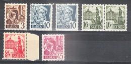 BADEN - Petite Collection De 6 Timbres - TOP AFFAIRE - Zone Française