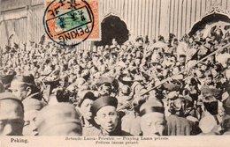 91Md   Chine Peking Praying Lama Priests DND - Chine