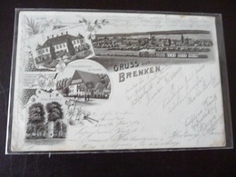 Gruss Aus Brenken Litho 1910 ?  Büren - Paderborn