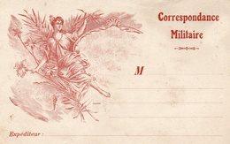 CP- Correspondance Militaire- Allégories-- - Guerre 1914-18