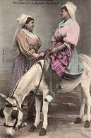 9909. CPA 85 LES SABLES D'OLONNE. PEU TENDRES POUR LA REPUTATION DU PROCHAIN 1908 - Sables D'Olonne