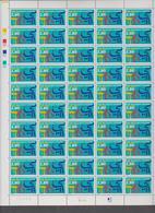 FRANCE 1 Feuille Compléte 50 T 2938 - Vendu Sous Valeur Faciale - 1994 - 200 Ans Ecole Des Langues Orientales - Hojas Completas