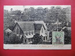 BRITISH NORTH BORNEO SANDAKAN CHURCH OF ST MICHAEL ANGELS TIMBRE BRITISH PROTECTORATE - Malaysia