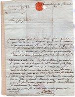 VP14.174 - BONNEVILLE An 12 - Lettre De Citoyen BASTIAN ?  Pour Le Citoyen JACQUIER Notaire à TANINGES - Manuscripts