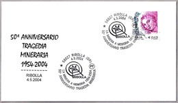 50 Años TRAGEDIA MINERA - 50 Years MINING TRAGEDY. Ribolla, Grosseto, 2004 - Minerales