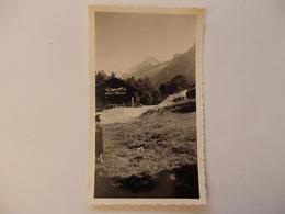 Photo Chamonix (74) Les Drus- La Verte Vus Des Bossons Publicté Raphael En 1956. - Places