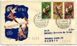 Ifni Nº 135/7 En Sobre - Ifni