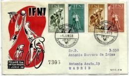 Ifni Nº 145/48 En Sobre - Ifni