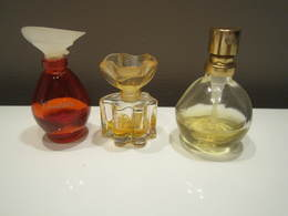 Lot De 3 Mignonnettes De Parfum CANTATE  OSCAR DE LA RENTA - E De T VAPO VENDÔME - Miniatures De Parfum