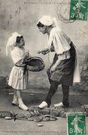 9911. CPA 85 NOS SABLAISES. A LA GRODE! A LA GRODE! 1907 - Sables D'Olonne