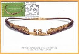 2018 Moldova Moldavie Moldau 2018: European Year Of Cultural Heritage. Special Postal Cancellation. Maxicard - Moldova