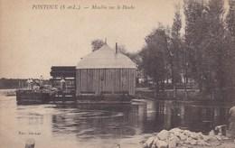 Saône-et-Loire - Pontoux - Moulin Sur Le Doubs - France