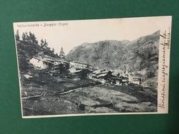 Cartolina Valturnanche - Borgata Crepin - 1905 - Italia