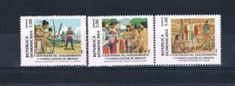 Dominican Republic 1090-92 MNH Set Discovery Of America CV 17.75 (D0129) - Dominican Republic
