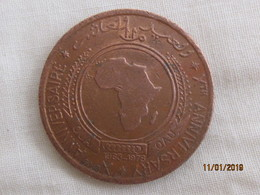 Medal 10th Anniversary Of The OAU (OUA) - Jetons & Médailles