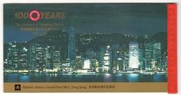 HONG KONG1990:Complete ,undamaged MH(booklet)Mi.595-8 Cat.Value$50 - Hong Kong (...-1997)