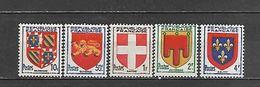 1949 - N. 834/38** - N. 839** - N. 840** (CATALOGO UNIFICATO) - France