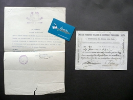 Attestato Medaglia D'Oro Sommossa S. Giovanni Valdarno Ciprini Carabiniere 1921 - Non Classificati