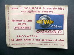 Lametta Da Barba Lama Di Solingen Acciaio Campione Omaggio Sigillato 1950 Circa - Altre Collezioni