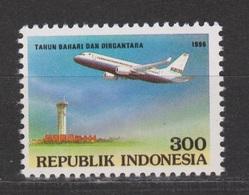 Indonesia Indonesie 1701 MNH ; Vliegtuig, Flugzeuge, Avion, Avion, Aeroplane 1996 - Vliegtuigen