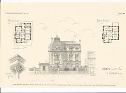 """SOISSONS Extrait De """"L ARCHITECTURE De 1904"""" - Soissons"""
