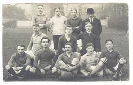 Carte Photo Recoupée équipe De Football ( Photographe à Rouen ) - Sports