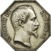 France, Jeton, Napoléon III, Notaires De L'Arrondissement De Pontoise, Barre - France