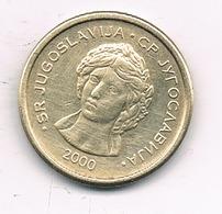 50 PARA 2000 JOEGOSLAVIE /0251/ - Yougoslavie