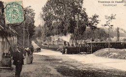 VALENCAY (36) Tramway De L'Indre - France