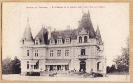 X34335 → Rare BEZIERS Ses Environs Château De La GARDIE Près VIAS Vue Principale 1910s E.D.B Modern Galeries - Beziers