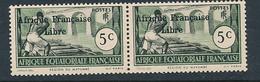 AEF FRANCE LIBRE MAURY DALLAY 139 MNH SANS CHARNIERE - A.E.F. (1936-1958)
