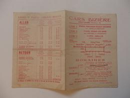 Horaires Cars Bizière à Rozay-en-Brie (77). - Europe