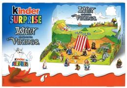 Kinder Diorama Carton Astérix Et Les Vikings 2006 - Dessins Animés