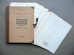 El Hierro Forjado Espanol Quintana Canosa 1928 Cartella 80 Tavole Completo Ferro - Libri, Riviste, Fumetti