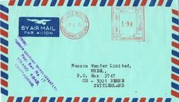 31139. Carta Aerea DAKA (Bangladesh) 1975. Remitida De CHITTAGONG - Bangladesh